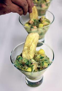A delícia peruana de um jeito diferente (Foto: Isabella Machado/Editora Globo)   Ceviche