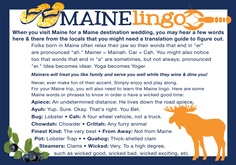 """Now. I can honestly say that this will be very helpful to anyone not from Maine. These things may seem small but it can be the difference between understanding or not. And the accent. Well...unless your going to compliment it it's just best not to mention it. And absolutely. Under NO circumstances are you to say it sounds like or is similar to a """"new york"""" accent. Cuz I can tell you. IT'S NOT!"""