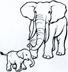 African Animals Coloring Pages | Click on each image to get downloadable pages that you can print and ...