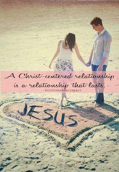 Jesus is the center...