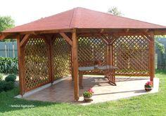 (99) Facebook Backyard Gazebo, Backyard Privacy, Outdoor Pergola, Wooden Summer House, Ar Fresco, Apartment Balcony Garden, Raised Bed Garden Design, Gazebo Plans, Patio Design
