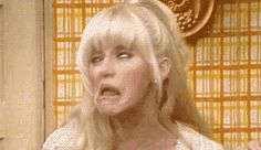 Check out all the awesome threes company gifs on WiffleGif. Including all the three's company gifs, suzanne somers gifs, and chrissy snow gifs. Company Quotes, Three's Company, Chrissy Snow, John Ritter, Top Tv Shows, Suzanne Somers, Old Shows, Smiles And Laughs, Classic Tv