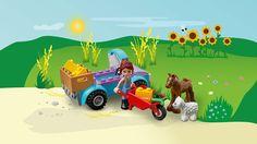 Mia's Farm Suitcase - LEGO® Juniors