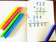 Πολλαπλασιασμός για παιδιά με Δυσλεξία! Χρησιμοποιώντας το χρώμα ως μεσολαβητή γίνεται ευκολότερο! Dyslexia at home
