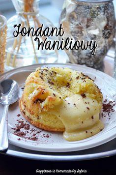 waniliowy fondant / vanilla lava cake