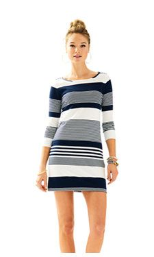 True Navy Coconut Stripe