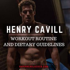 Henry Cavill Workout Routine and Diet Plan: Train like The Man of Steel, Superman, Theseus and Geralt of Rivia – Superhero Jacked Fitness Workouts, Hero Workouts, Ace Fitness, Muscle Fitness, Fitness Diet, Mens Fitness, At Home Workouts, Fitness Motivation, Health Fitness