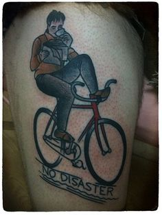 Tattoo Styles Bicycle Tattoos