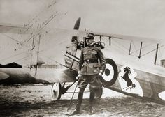 Count Franceso Baracca: Italy's top ace in the First World War. The Horse on his…