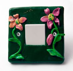 We always forget the things we use regularly - why not add some colour to your light switch? We used FIMO or Sculpey.  — Hobby Art Chemaco