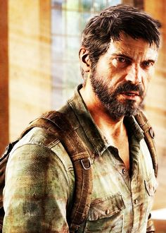 The Last of Us - Joel. Yeah I know he's a video game character but dang he's pretty!!