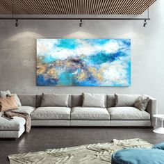 Original Abstract Painting Modern Decor Extra Large Art image 9 Acrylic Wall Art, Abstract Wall Art, Abstract Paintings, Extra Large Wall Art, Large Art, Large Canvas, Texture Art, Texture Painting, Large Painting