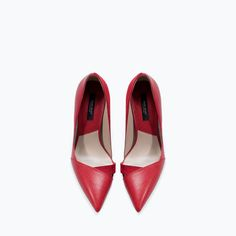 ZARA - WOMAN - COMBINED HIGH HEEL COURT SHOE