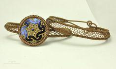 Soutache Lattice Bracelets   by ShaktipajDesigns