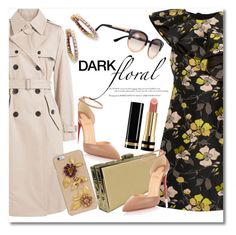 """""""Dark Floral winter"""" by vkmd ❤ liked on Polyvore featuring Christian Louboutin, Marc Jacobs, Giambattista Valli, Dolce&Gabbana, Judith Leiber, Tory Burch, Gucci and darkflorals"""