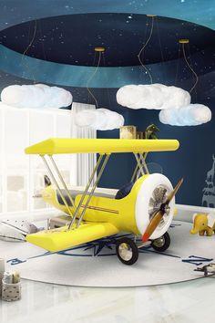 seis habitaciones infantiles de cuento - Volando voy | Galería de fotos 6 de 8 | AD