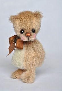 Ummm, cutest little teddy bear EVER! I've declared it so it must be so...
