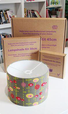 Drum Lampshade Making Kit   Various Sizes