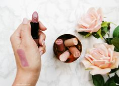 Essence I love Nude Lipsticks Review & Swatches ♥ http://www.joliennathalie.com/2015/02/essence-i-love-nude-lipsticks-review.html #ilovenude #trendedition #EssenceCosmetics