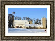 Mitchell Farm Framed Print By Bonfire #Photography