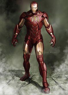 Super Hero Brand #ironman