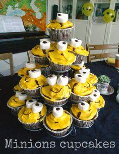 Opskrift: Minions cupcakes // MTOTFLS.DK