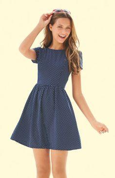 Pin Dot Dress - Perfect for Summer!