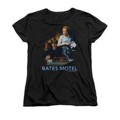 Bates Motel - Die Alone Women's T-Shirt