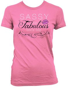 76450d89127a8 21st Birthday Gift Ideas For Her Bday Present Custom T Shirt Personalized  TShirt Sassy And Fabulous