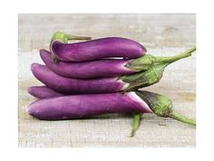 Tender and delicious violet-colored fruit are long and slender. This productive and tasty variety comes from the Southeast Asian country of Malaysia.