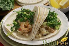 Shrimp Scampi Tacos - Wildtree Recipes