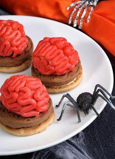 Halloween-Rezept für gruselige Kekse!