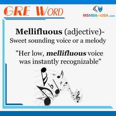 #WordOfTheDay #GREWord #GRE Via MSMBAinUSA