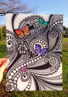 My latest drawing, in honor of spring :)