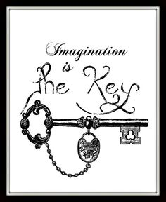 Imaginatios is the key 8x10 downloadable by PrintItOn on Etsy