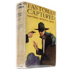 Fantomas Captured, dust-jacket