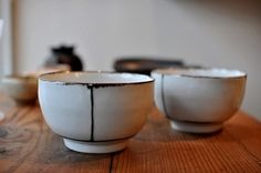 Kie Watanabe - The word escapes me that would describe the earthy, graceful beauty of thrown pottery