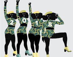 "Check out new work on my @Behance portfolio: ""2018 WOMEN RUN THE WORLD"" http://be.net/gallery/66638599/2018-WOMEN-RUN-THE-WORLD"