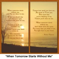 "Amazon.com - Pet Lover Remembrance Gift, ""When Tomorrow Starts Without Me"" Poem, Memorial Pet Loss Picture Frame Keepsake and Sympathy Gift ..."