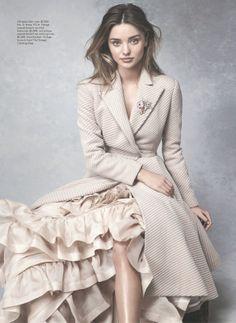 Miranda Kerr by Nicole Bentley for Vogue AU