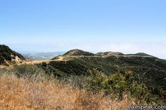 Zuma Ridge Trail   one of the many stunning hiking trails in Southern California.  Beautiful views of the Ocean.