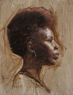 Portraits by Emilie Lee, via Behance African American Artwork, African Art, Figure Painting, Painting & Drawing, Illustrations, Illustration Art, Great Works Of Art, Portrait Art, Painting Portraits
