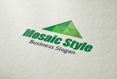 Check out Mosaic Style Logo by BDThemes Ltd on Creative Market