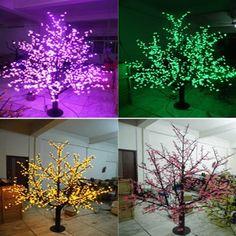 1536LEDS 200cm outdoor led cherry blossom tree light for christmas led christmas tree lights decoration