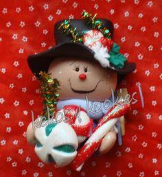 Kekos & Kookies: Muñecos Navidad