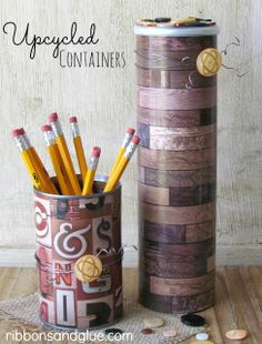 Upcycle And Repurpose On Pinterest Old Bed Sheets Upcycle And Tin Cans
