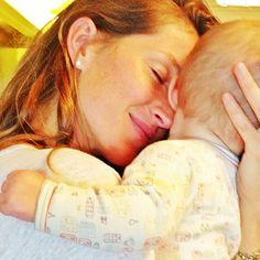 Gisele Bundchen with daughter Vivian