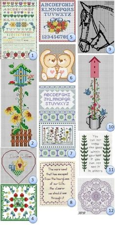 Even more free cross stitch charts!!REPINNED | REPINNED