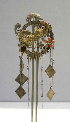 Hair Ornament   Japan   Edo period (1615–1868)   The Met