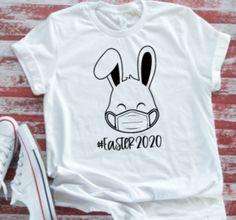 Custom Apparel R Us Too Hip to Hop Easter Bunny Mens Short Sleeve